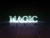 Typeface light effect
